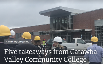 Five takeaways from Catawba Valley Community College