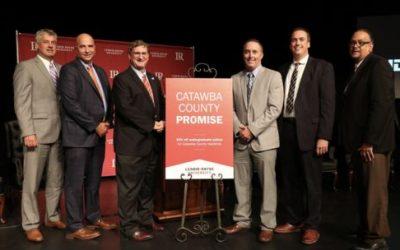 Lenoir-Rhyne unveils Catawba County Promise