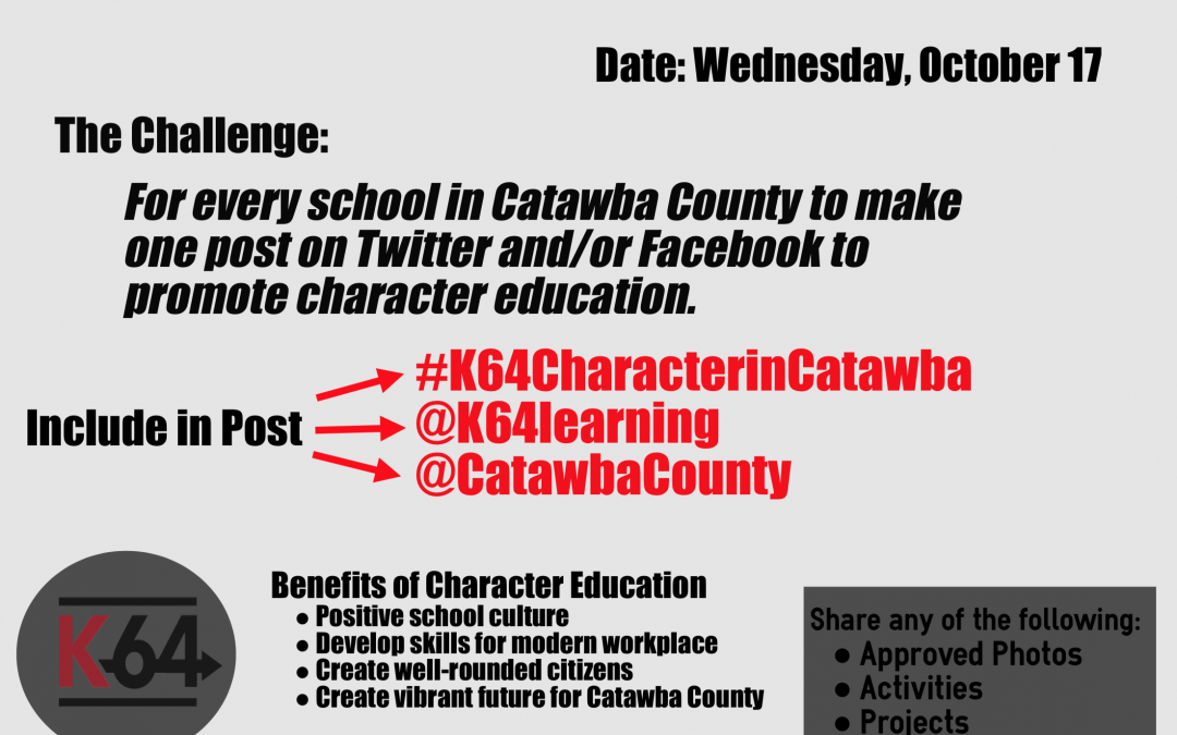 K-64 Character in Catawba Challenge