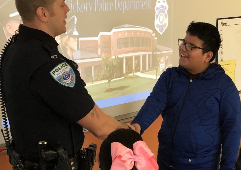 K-64 Collaborates with Longview Elementary to host Career Fair